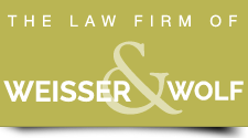 Law Office of Weisser & Wolf logo